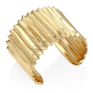 ALEXIS BITTAR Elements Crystal Gold BRACELET